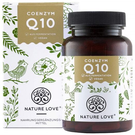 NATURE LOVE® Coenzym Q10 Fördert Das (natürliche) Immunsystem Der Körperzellen, Egal Ob Nerven-, Muskel- Oder Hautzellen, Bewirkt Straffe Und Gesunde Haut, Anti-Aging