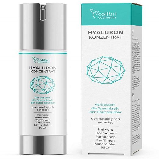 Hyaluronsäure Serum Hochdosiert Anti-Aging Creme Erhöht Die Spannkraft Der Haut Und Wirkt Gegen Falten Und Fältchen, Augenringe Und Altersflecken