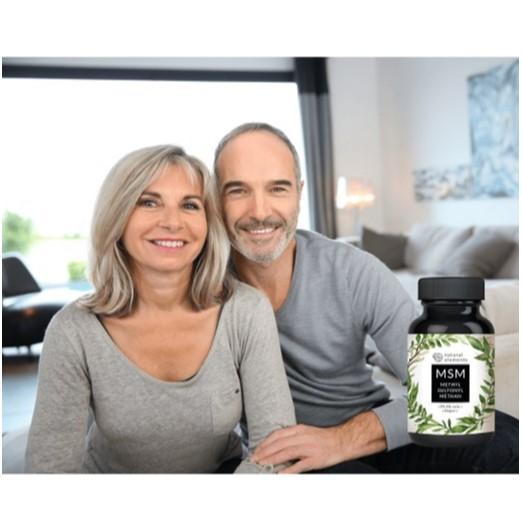 Pflanzliche Kapseln Methylsulfonylmethan (MSM) Ist Eine Natürliche Alternative Zu Flexiblen Gelenken, Im Allgemeinen Eine Bessere Leistung, Ein Besseres Hautbild, Vollere Haare, Eine Bessere Verdauung
