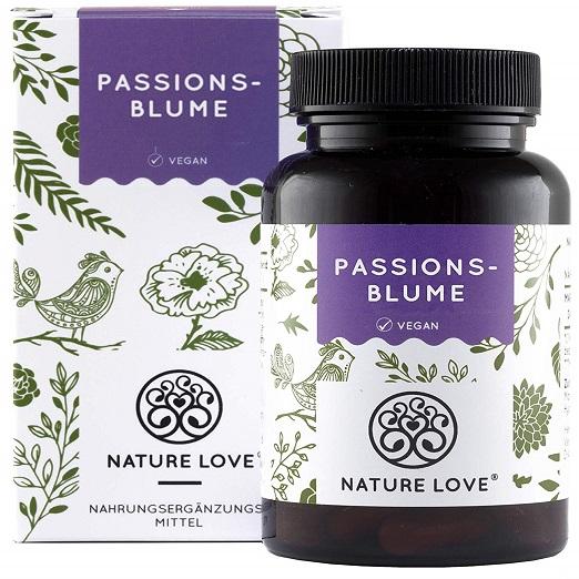 Passionsblumenextrakt, Natürliches Beruhigungsmittel, Schlaf Induzierend, Wohltuende Wirkung Auf Herz Und Blutgefäße, Kann Bei Stresssituationen Und Überaktivität Helfen, ADHS
