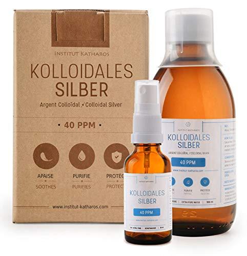 Kolloidales Silber: Kosmetikprodukt Traditionell Bekannt Als Natürliches Antibiotikum Für Entzündungen, Infektionen, Wunden, Akne, Warzen, Ekzem Und Hautkrankheiten Im Algemeinen