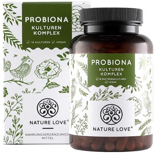 Probiona Kulturen Komplex Kapseln Absolute Unterstützung Für Die Verdauung Gallen Blähbauch Darmflora Bio-Qualität Vegan Hochdosiert