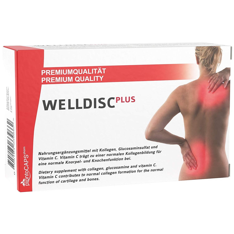 Bandscheiben Kapseln Für Ihren Rücken, Kapseln Naturprodukt Für Steife / Steife Muskeln Im Rücken Und Nacken