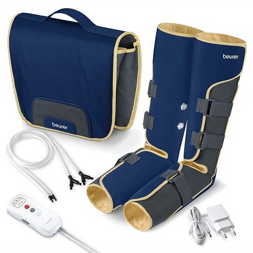 Beurer FM 150 Venentrainer | Beinmassagegerät | Luftdruckmassage Für Zuhause | Elektrisches Venen Massagegerät – Bei Verspannungen Und Schweren Beinen