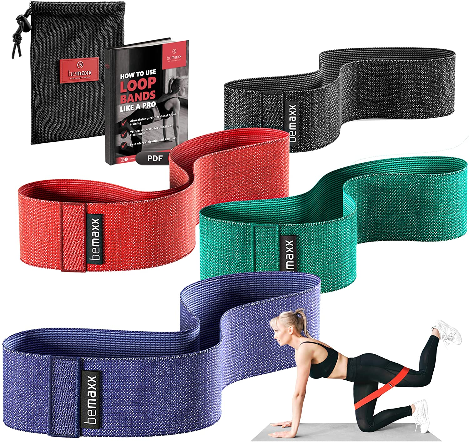 elastiek-weerstands-fitness-set