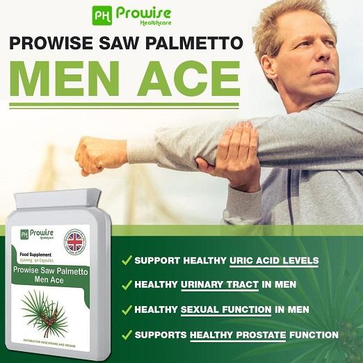 Zaagpalm (Saw Palmetto) Goed Voor Prostaat, Urinewegen En Een Normaal Gezond Hormoonevenwicht Bij Mannen. Draagt Tevens Bij Tot De Instandhouding Van Normaal Haar.