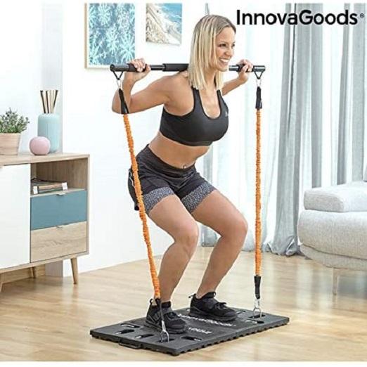 Full-body Trainings-systeem, Draagbaar, Met Handleiding Met Oefeningen, Ideaal Voor Training Van Het Hele Lichaam (bovenlichaam, Armen, Benen En Rug)